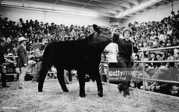 Grand Champion Steer Brings Record $30000 Peter Gilbert left in photo at right who has agreed to purchase the Colorado Rockies hockey team and is...