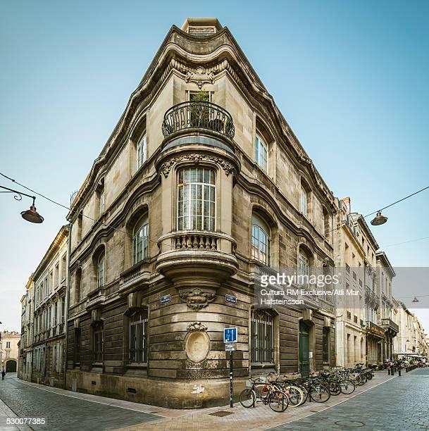 Grand corner building, Bordeaux, Aquitaine, France