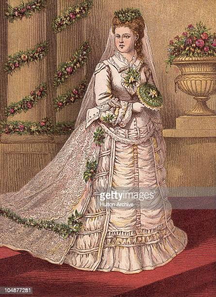 Grand Duchess Maria Alexandrovna of Russia marries Prince Alfred Duke of Edinburgh in St Petersburg becoming the Duchess of Edinburgh 23rd January...