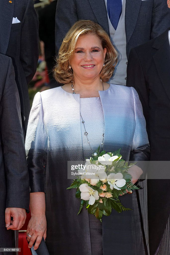 Grand Duchess Maria Teresa of Luxembourg celebrates National Day 2 at Philarmonie on June 23, 2016 in Luxembourg, Luxembourg.