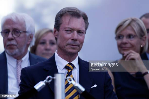 Grand Duke Henri of Luxembourg attends celebrations of National Day on June 22 2017 in Luxembourg Luxembourg
