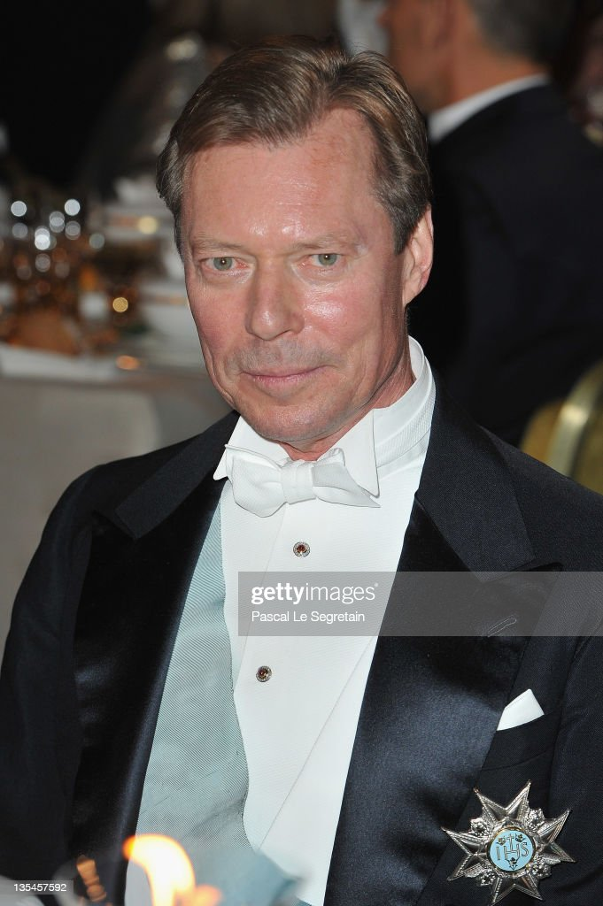 Grand Duke Henri of Luxembourg attends the Nobel Banquet at the City Hall on December 10, 2011 in Stockholm, Sweden.