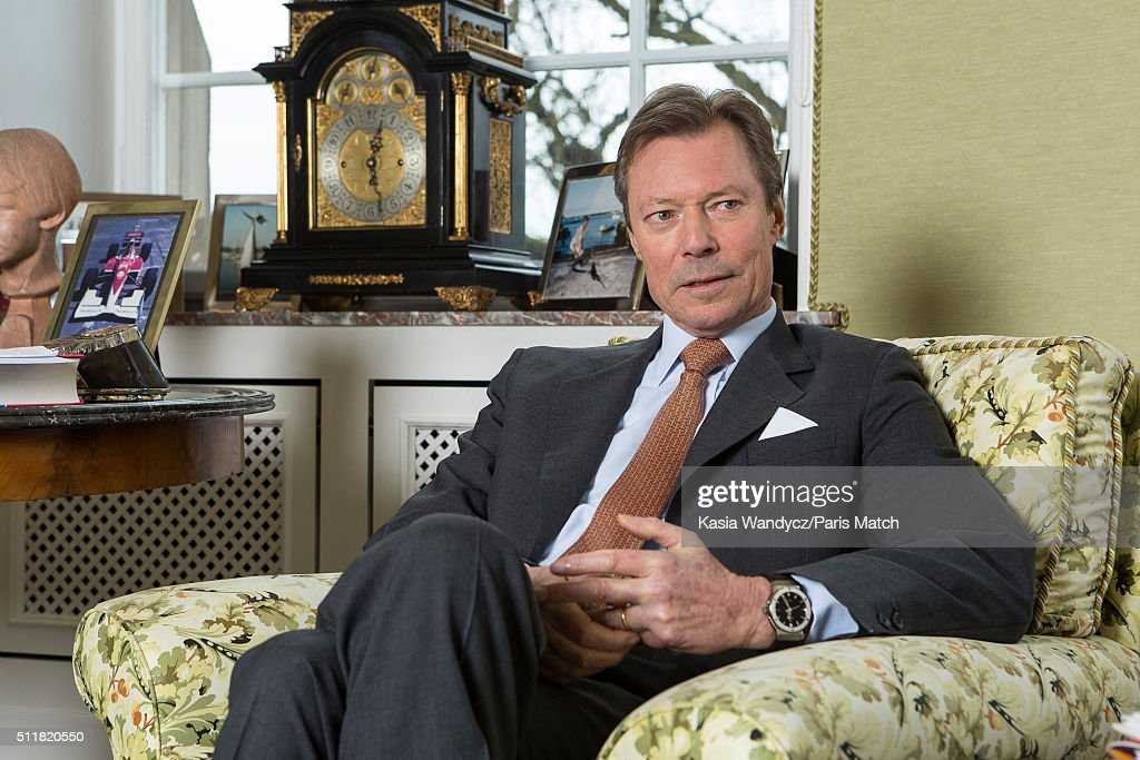 Duke Henri of Luxembourg, Paris Match Issue 3483, February 24, 2016