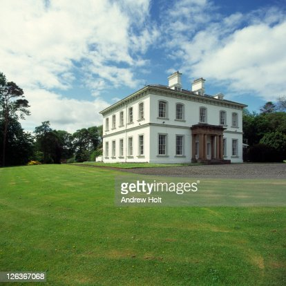 A grand Georgian mansion located within the grounds of Ballyscullion Park in Belaghy.