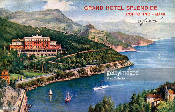 Grand Hotel Splendide Portofino Italy 20th century Portofino is a resort on the Italian Riviera