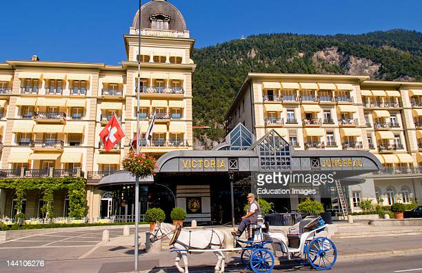 Grand Hotel Victoria Jungfrau In Interlaken Switzerland