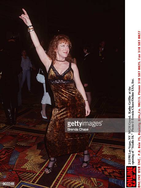 Grand Las Vegas NV Kathy Griffin from 'Suddenly Susan' at the opening of 'Studio 54'