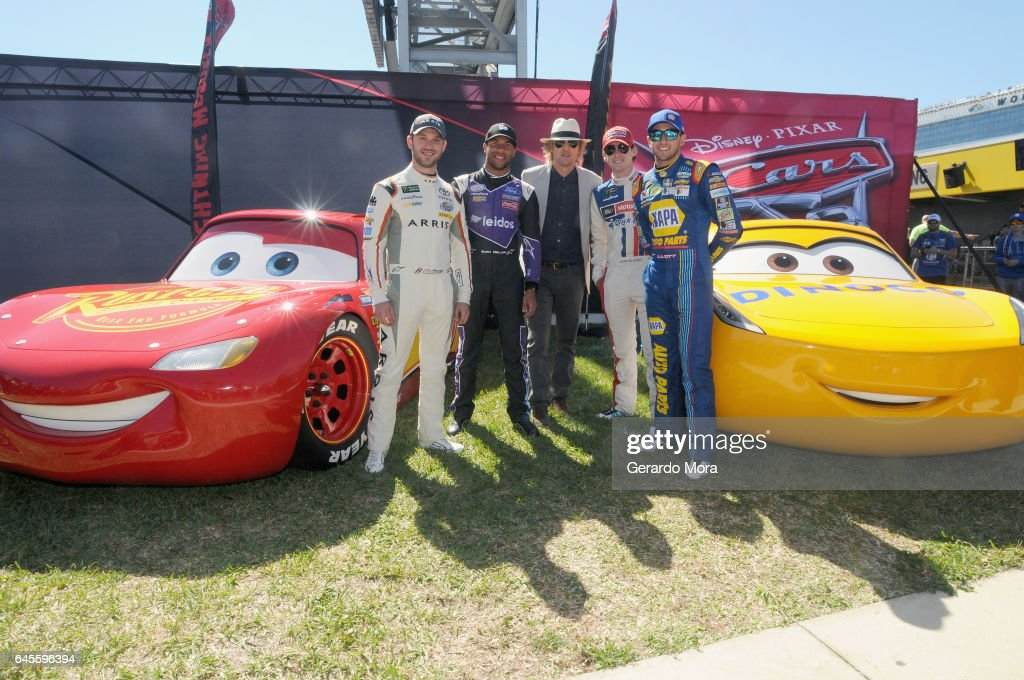 Owen wilson at daytona 500 photos and images getty images grand marshal owen wilson voice of lightning mcqueen in cars 3 poses with sciox Choice Image