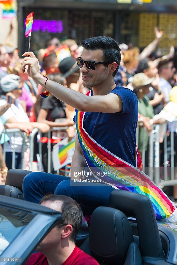 Grand Marshal Subhi Nahas attends the 2016 Pride March on June 26, 2016 in New York City.