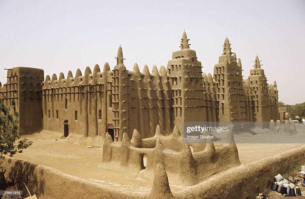 Grand mosque djenne : Stock Photo