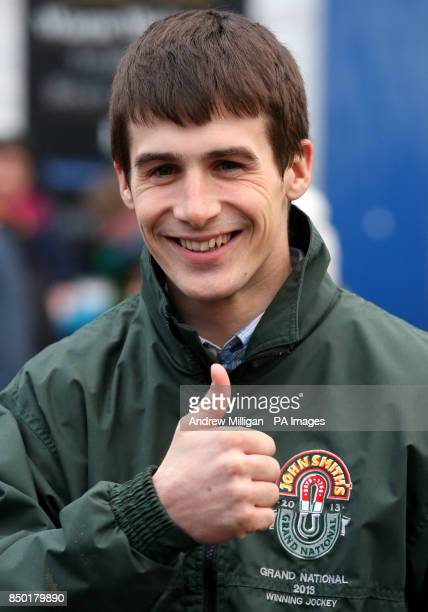 Grand National winning Jockey Ryan Mania during a homecoming parade in his hometown of Galashiels on the Scottish Borders PRESS ASSOCIATION Photo...
