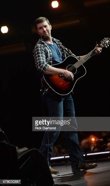 Grand Ole Opry Members and Friend Josh Turner performs during the 40th Anniversary of The Grand Ole Opry House on March 15 2014 in Nashville Tennessee