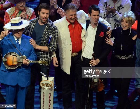 Grand Ole Opry members and friends Bill Anderson Clint Black Diamond Rio Green River Ordinance Miranda Lambert Old Crow Medicine Show Opry Square...
