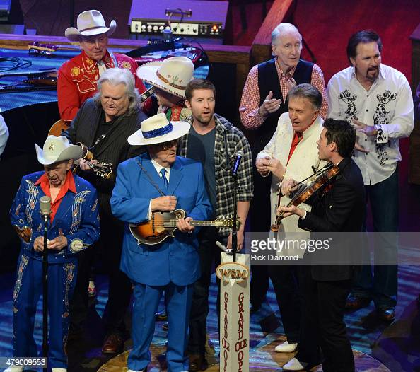 Grand Ole Opry members and friends Little Jimmy Dickens Ricky Skaggs Riders in the Sky Bobby Osbourne Josh Turner Diamond Rio and Bill Anderson...