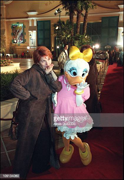 Grand Opening Of The Walt Disney Studios In Marne La Vallee On March 15Th 2002 In MarneLaVallee France Veronique Genest