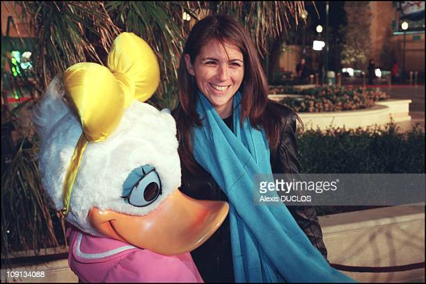 Grand Opening Of The Walt Disney Studios In Marne La Vallee On March 15Th 2002 In MarneLaVallee France Valerie Benaim