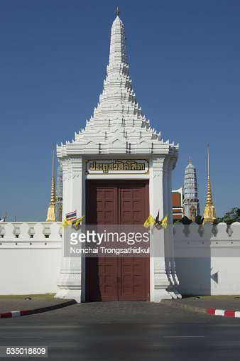 Grand Palace Gate, Thailand