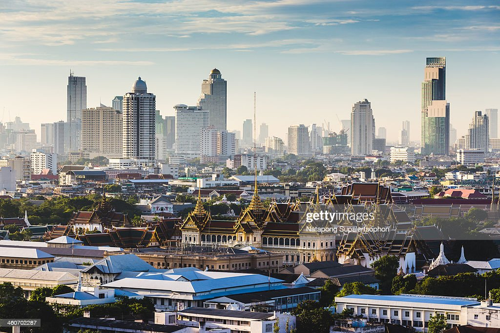 Grand Palace in Morning Time