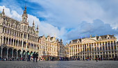 Grand palace in the centre of Brussels Belgium