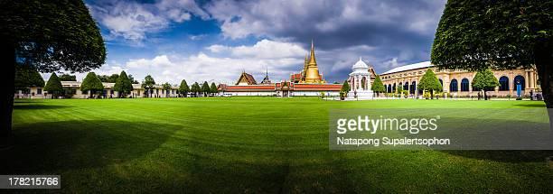 Grand Palace of Bangkok's Lawn