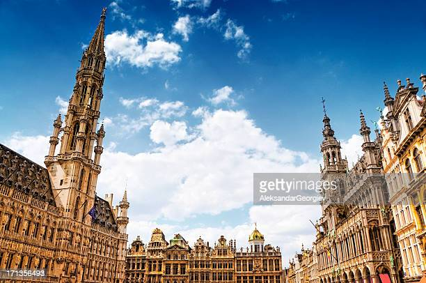 Grand Place und Town Hall, Brüssel, Belgien