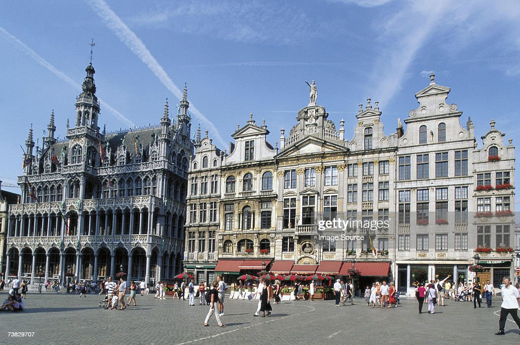Grand' Place, Brussels, Belgium : Stock Photo