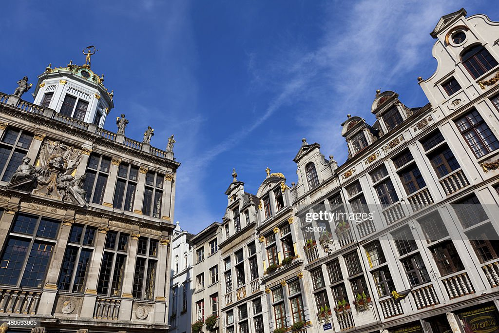 grand place brussels : Stock Photo
