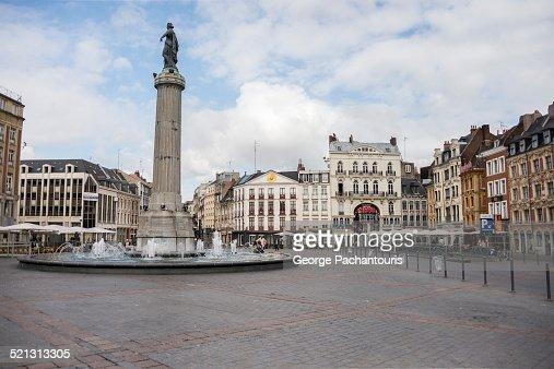 Grand Place or Place du General de Gaulle, Lille
