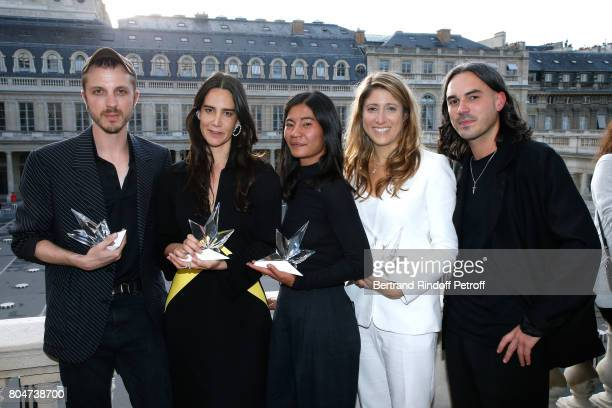 'Grand Prix' Glenn Martens for Y/Project 'Prix Accessoires de Mode' Jewelry Designer Ana Khouri 'Prix du Label Creatif' Laura Do and Bastien Laurent...