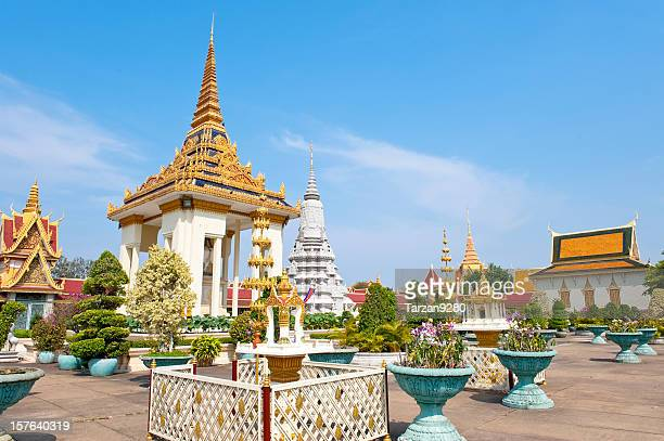 Grand royal palace in Phnom Penh