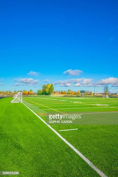 Grand terrain de soccer