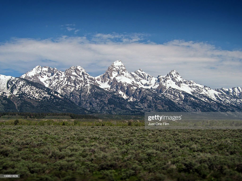 Grand Tetons, Jackson Wyoming : Stock Photo