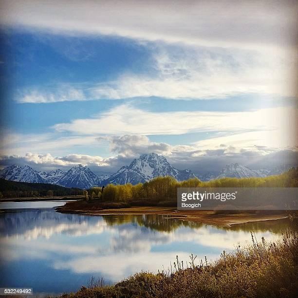 Grand Tetons National Park Nature Landscape in Spring