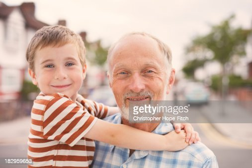Grandad and grandson