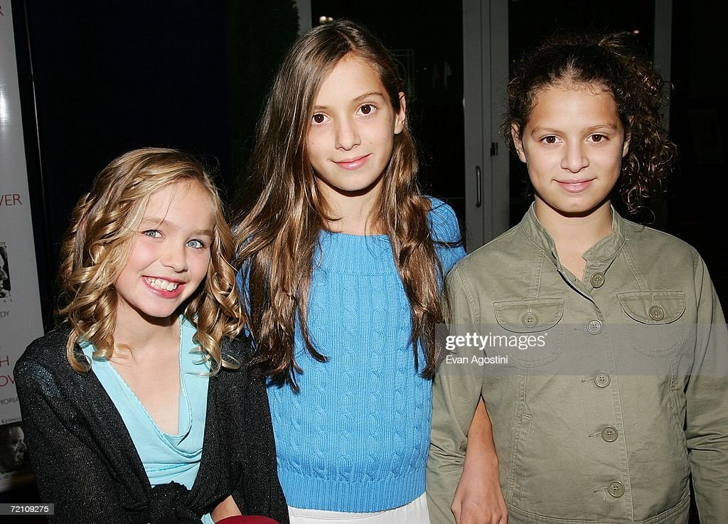 RFK grandchildren Saoirse Kennedy Hill, Mariah Kennedy Cuomo and Cara Kennedy Cuomo attend the Speak Truth To Power Memorial Benefit Gala at Pier Sixty, October 6, 2006 in New York City.
