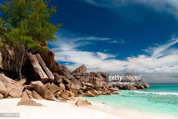 Grande Anse Beach in Seychelles