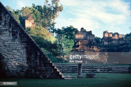 Grande Plaza, Tikal, Guatemala