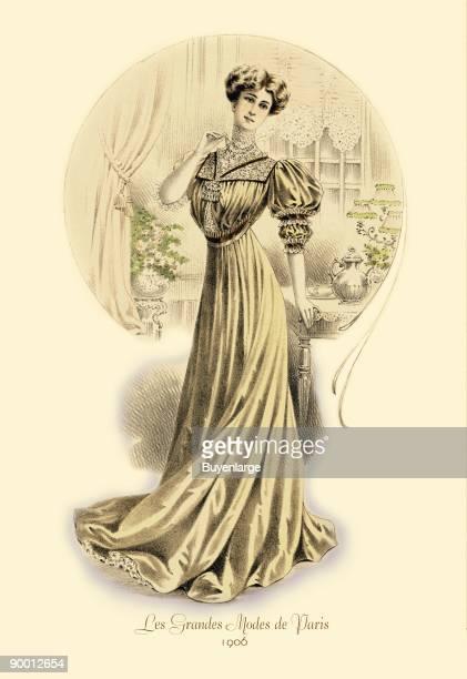 Grandes Modes de Paris Golden Gown