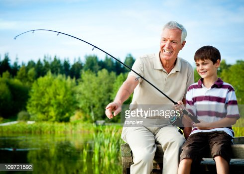 grandpa and grandson fishing jokes