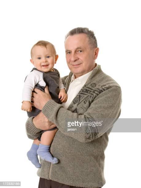 grandfather and his grandchild