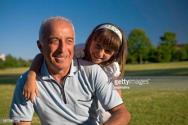 Grandfather happyness