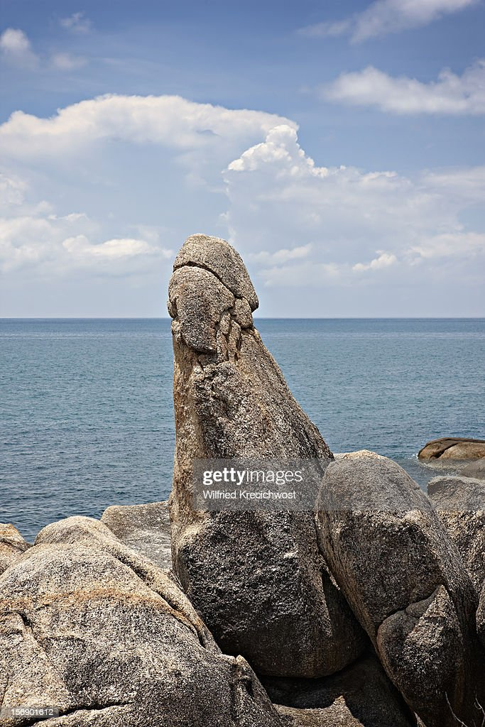 Grandfather stone, Ko Samui, Thailand