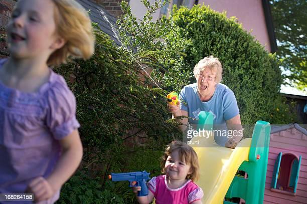Nonna entrare nel divertimento