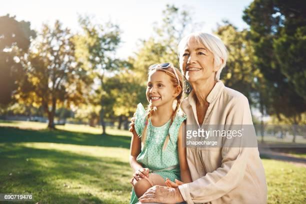 Grandma's love is the greatest love