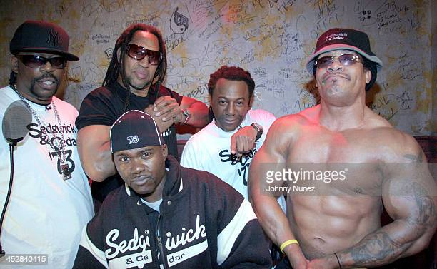 Grandmaster Caz DJ Kool Herc Grand Wizzard Theodore Busy Bee and Melle Mel