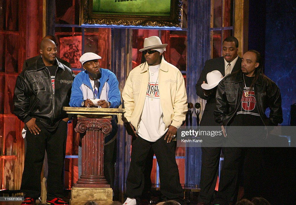 Grandmaster Flash and the Furious Five, inductees during 22nd Annual Rock and Roll Hall of Fame Induction Ceremony - Show at Waldorf Astoria in New York City, New York, United States.