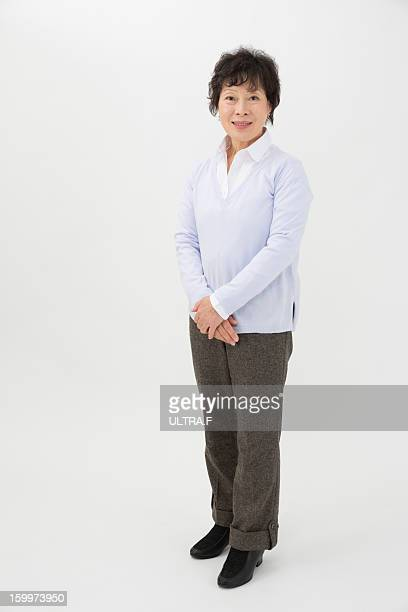 grandmother who is standing