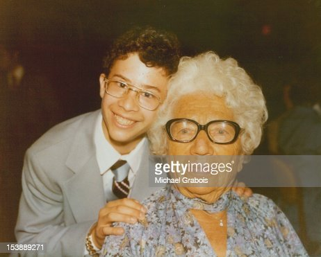Grandmother with grandson : Stock Photo