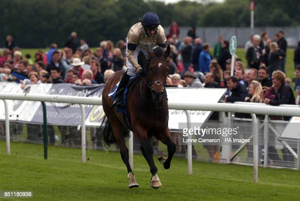 Grandorio ridden by Daniel Tudhope wins The Neptune Investment Management Stakes at York Racecourse York