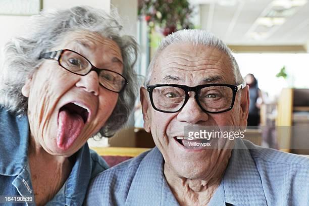 Grandpa et de Grand-mère de faire face